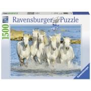 Ravensburger puzzle cai in apa, 1500 piese