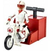 Mattel Toy Story 4. Duke Caboom Con Moto E Lanciatore. Gfb55