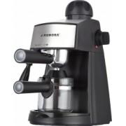 Espressor manual Aurora AU142 800W 4 bari 350ml Dispozitiv Cappuccino/Spumare Capacitate 4 cesti Negru/Inox