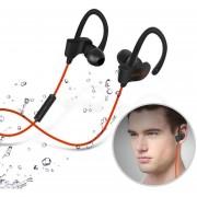 Audífonos Bluetooth, 56S Deportes In-Ear Auricular Audifonos Bluetooth Manos Libres Inalámbrico Auriculares Estéreo Earbuds Auriculares Bajos Con Micrófono Para IPhone 6 Teléfono Samsung (rojo)