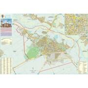 Harta Municipiului Buzau BZ - sipci de plastic