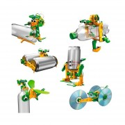 6 En 1 Solar DIY Kits Robot