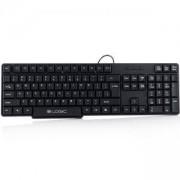 Клавиатура Logic LK-12, BUL, Черна