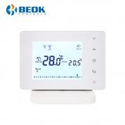 Termostat Wi-Fi centrala termica pe gaz si incalzire in pardoseala cu agent termic BeOk BOT306RF-WIFI, Programabil, Anti-inghet