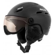 RELAX PREVAIL VISOR Lyžařská helma RH28A černá L