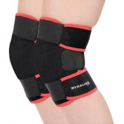 Strauss Adjustable Knee Support Free Size (Pair)