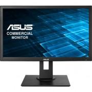 Monitor LED IPS ASUS 21.5'', Wide, Full HD, DVI-D, D-Sub, DisplayPort, 2 x USB, Boxe, Negru, BE229QLB