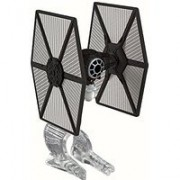 First Order Special Forces Tie Fighter - Star Wars Starship Model, Black & Gray - Mattel CGW52A