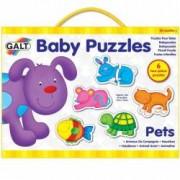 Baby Puzzle Animale de companie 2 piese