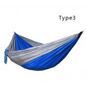 Al aire libre paracaídas hamaca 275 * 140 cm cama de camping