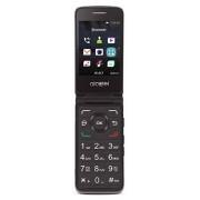 Tracfone Carrier-Locked Alcatel MyFlip 4G Prepago Flip Phone-Negro 4GB Tarjeta SIM incluida CDMA (renovado) (Modelo: TFALA405DCR)