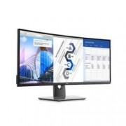"""Монитор Dell U3417W, 34""""(86.36 cm) IPS панел, 8ms, 5 000 000:1, 300cd/m2, mini Display Port, HDMI, USB"""