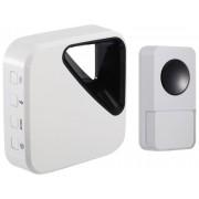 OPTEX 990161 Bezdrátový designový barevný zvonek bílá/černá s dlouhým dosahem
