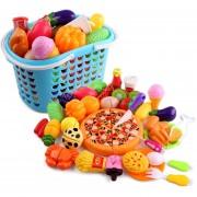 40Pcs Juguete De Corte De Verduras De Frutas 360DSC - Multicolor