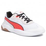 Сникърси PUMA - Ekstra 371138 03 White/HighRisk Red/Black Gum