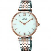 Lorus Montre-bracelet Lorus RRW88EX-9 Silver/Rose Gold Two Tone Rose Gold/Two Tone