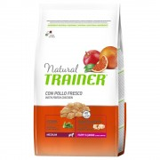 Trainer Natural Dog Trainer Natural Medium Puppy & Junior Pollo fresco - 12 kg