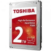 "HDD desktop Toshiba P300 (3.5"" 2TB, 7200RPM, 64MB, NCQ, AF, SATAIII), bulk HDWD120UZSVA"