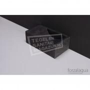 Forzalaqua Venetia XS Fontein Rechthoek Hardsteen Gezoet 29x16x10 cm zonder kraangaten Links