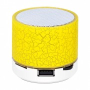 Mini Boxa portabila Bluetooth - Colorful Galbena