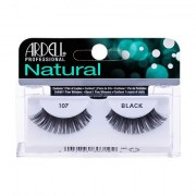 Ardell Natural 107 nalepovací řasy 1 ks odstín Black pro ženy