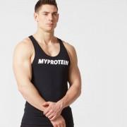 Myprotein Camiseta de Tirantes Larga con Logo - XL - Negro
