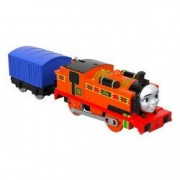 Trenulet Locomotiva Motorizata cu Vagon Nia Thomas and Friends Track Master