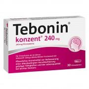 Dr. Willmar Schwabe GmbH & Co. KG TEBONIN konzent 240 mg Filmtabletten 30 St