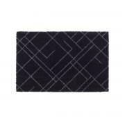tica copenhagen - Lines Fußmatte, 40 x 60 cm, schwarz / grau