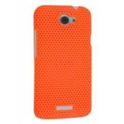 HTC One X / XL / X+ Slim Mesh Case - HTC Hard Case (Orange)