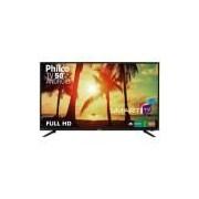 Smart TV Android LED 50 Philco PTV50A17DSGWA Full HD com Wi-Fi 2 USB 3 HDMI Midiacast e 60Hz