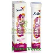 Solix CaMgZn D3+C 20 cpr Eff Health Advisors