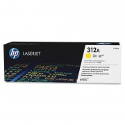 HP 312A Yellow Original LaserJet Toner Cartridge (CF382A)
