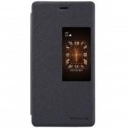 Husa Huawei P8 Nillkin Sparkle S-View Flip Gri