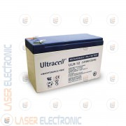 Batteria al Piombo AGM Professionale UL9-12 Ultracell UK 12V DC 9.0AH 9AH