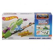 Set de joaca Hot Wheels Track Builder - Pista de lansare, cu masinuta