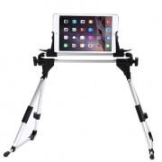 Shop4 - Universele Tablet Houder Bed Verstelbaar Zwart voor 7-10 inch tablets