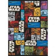 Notebook în capacul laminat, format A5, 16 pagini, grila, licență de Star Wars: Episodul VII