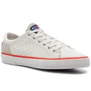 Гуменки HELLY HANSEN - Copenhagen Leather Shoe 115-02.011 Off White/Alert Red/Light Grey
