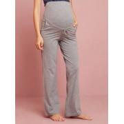 Calças de ioga, para gravidez e pós-gravidez cinzento medio mesclado