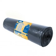 Vrecia na odpadky čierne 70x110cm, 120 l, Typ 100 [15 ks]