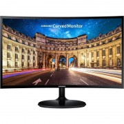 Monitor LED Curbat Gaming Samsung LC24F390FHU 24 inch 4ms Black