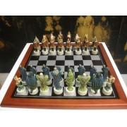 Királyos fantázia sakk készlet