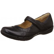 Clarks Women's Un Hazel Black Leather Pumps - 4 UK/India (37 EU)