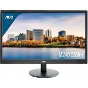 "Monitor 24"" AOC LED VA M2470SWH, VGA, 2xHDMI, zvučnici"