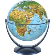 Physical World Globe 15cm: Swivel and Tilt World Physical Globe (Stellanova Globes)