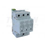 Descarcator de supratensiuni,AC,cl.2,elem.modular inlocuibil TTV2-60-3P 230/400 V, 50 Hz, 30/60 kA (8/20 us), 3P