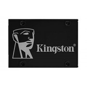 Kingston KC600 SSD SKC600/1024G Interno SSD de 2,5 pulgadas, SATA Rev 3.0, 3D TLC, XTS-AES de 256 bits
