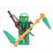 LEGO Ninjago Lloyd Zx (Green Ninja) With Weapons