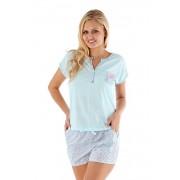 Pijama dama Floral albastru_deschis 810